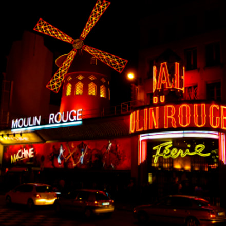 Moulin Rouge, Paris, Panasonic DMC-TZ5