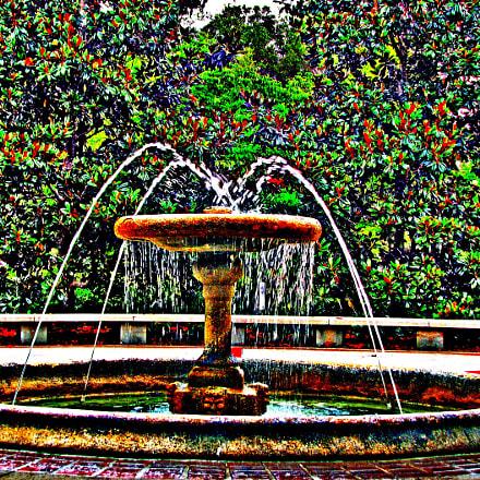 Fountain, Canon POWERSHOT S3 IS