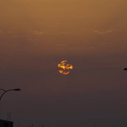 Sunset, Pentax K-50, smc Pentax-DA L 50-200mm F4-5.6 ED WR