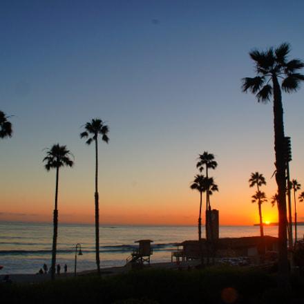 Californian Sunsets, Sony SLT-A37, Minolta/Sony AF DT 18-200mm F3.5-6.3 (D)