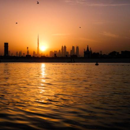 Dubai Sunrise, Nikon COOLPIX AW130