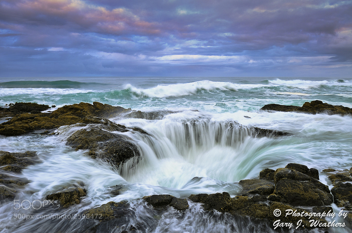 Photograph Thor's Well by Gary Weathers on 500px