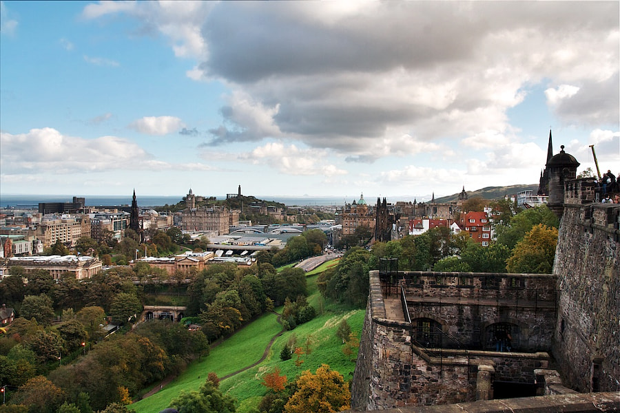 Photograph View over Edinburgh by Christian Luijten on 500px