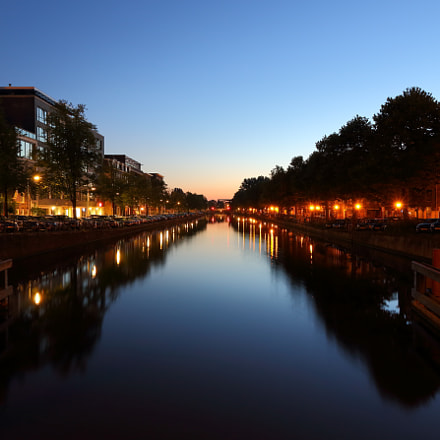 Amsterdam dawn, Canon EOS 70D, Canon EF-S15-85mm f/3.5-5.6 IS USM