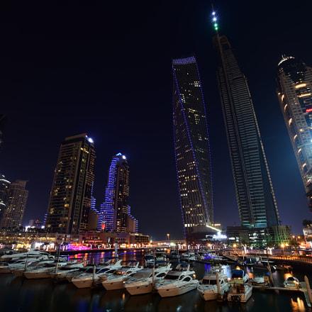 Luxury Marina Night, Nikon D7200, Sigma 10-20mm F3.5 EX DC HSM