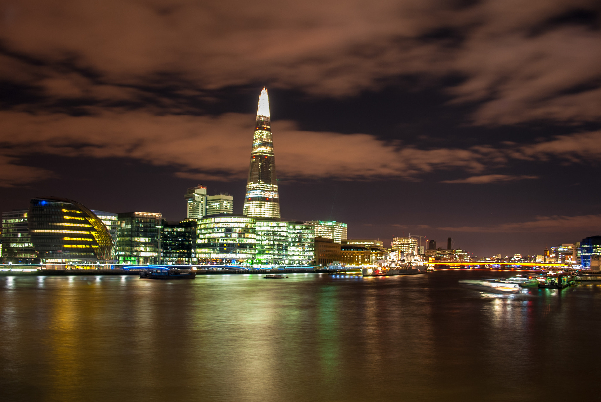Photograph The Shard by Pablo LaVegui on 500px