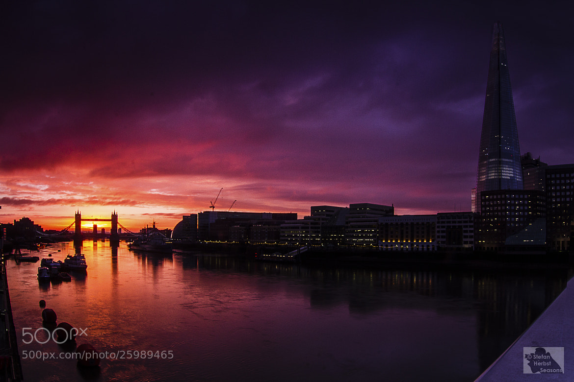 Photograph Thames banks by Stefan Herbst on 500px