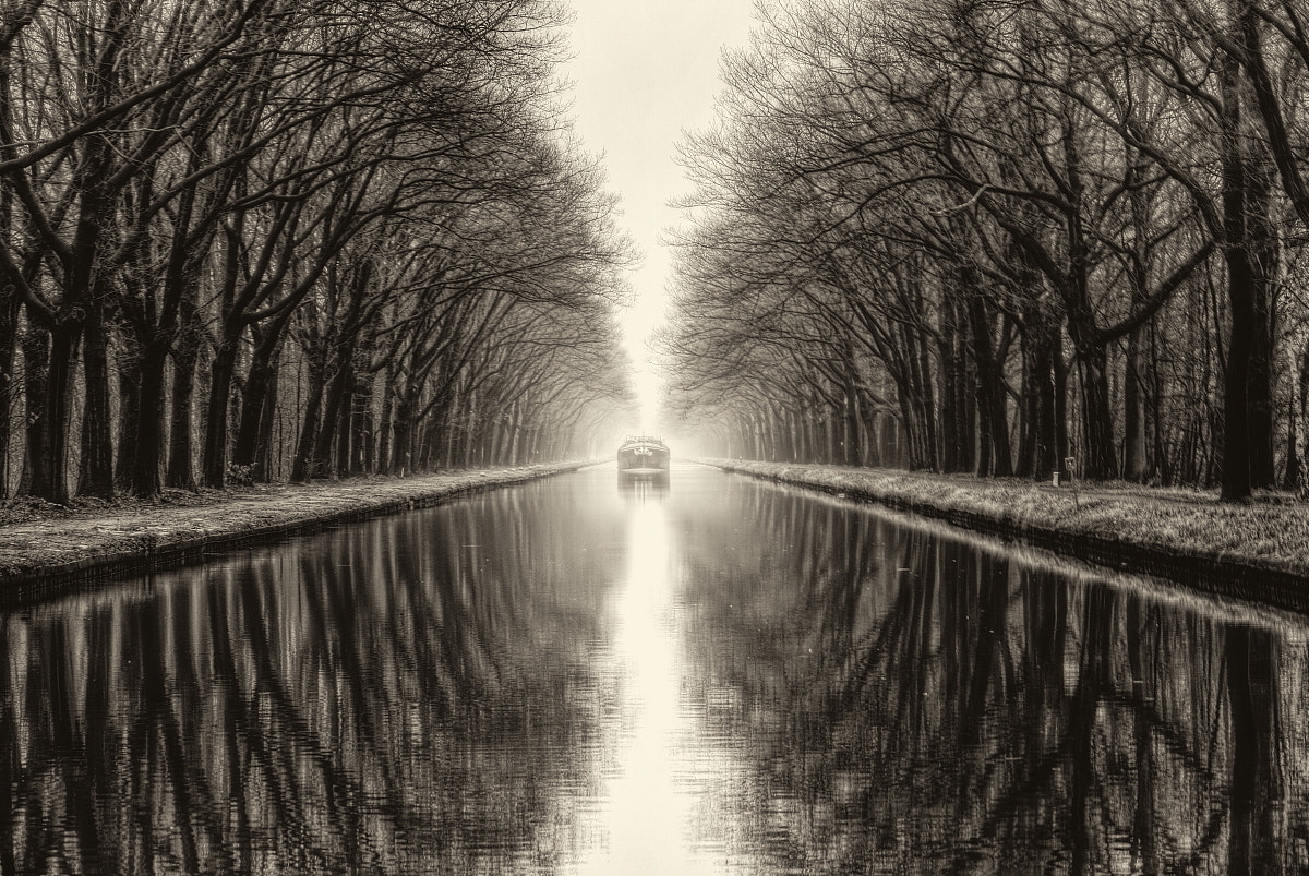 Photograph Boat on Canal by Leon Van Ham on 500px