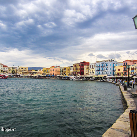 Chania Crete, Greece, Canon IXUS 220 HS