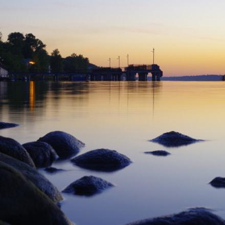 Ples, evening, sunset, calm..., Pentax K-50