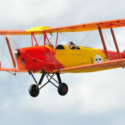 Tiger Moth, Nikon D300S, Sigma APO 100-300mm F4 EX IF HSM