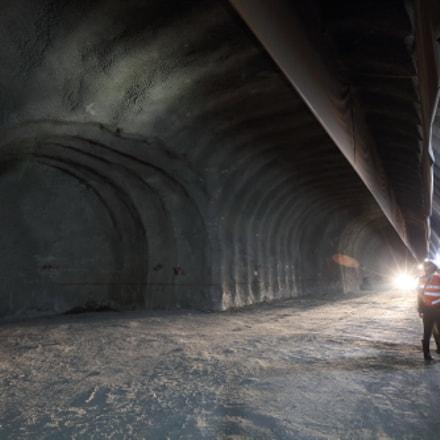 Tunnel construction, Canon EOS 5DS R, Canon EF 16-35mm f/2.8L II