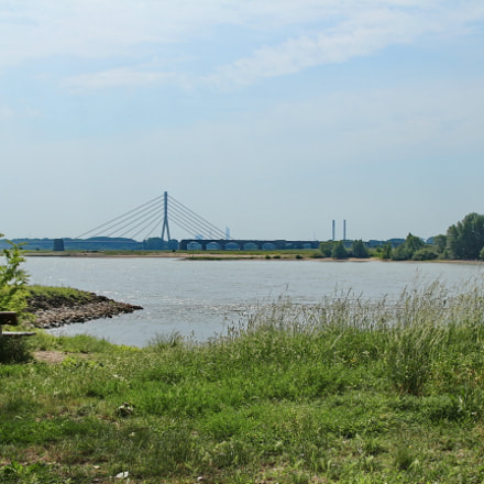 Le Rhin Wesel Conflit, Canon EOS 650D, Tamron AF 18-270mm f/3.5-6.3 Di II VC LD Aspherical [IF] Macro