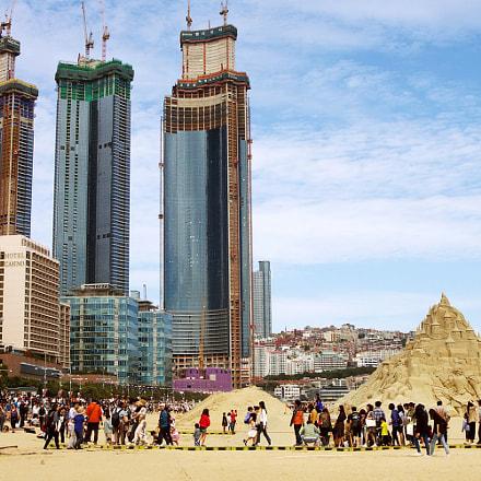 Haeundae Sand Festival 2018 해운대 모래축제, Pentax *IST DL, PENTAX-F 28-80mm F3.5-4.5