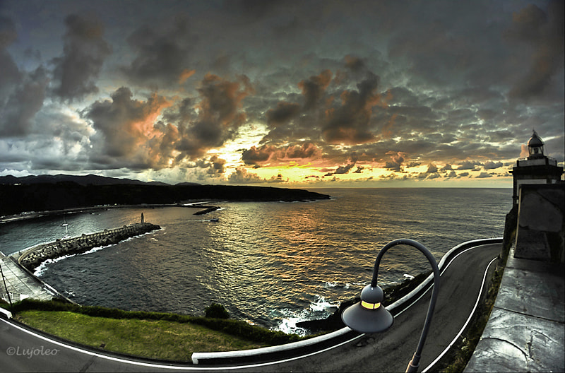 Photograph Sunset at Lighthouse´s road by Luis Cabal on 500px
