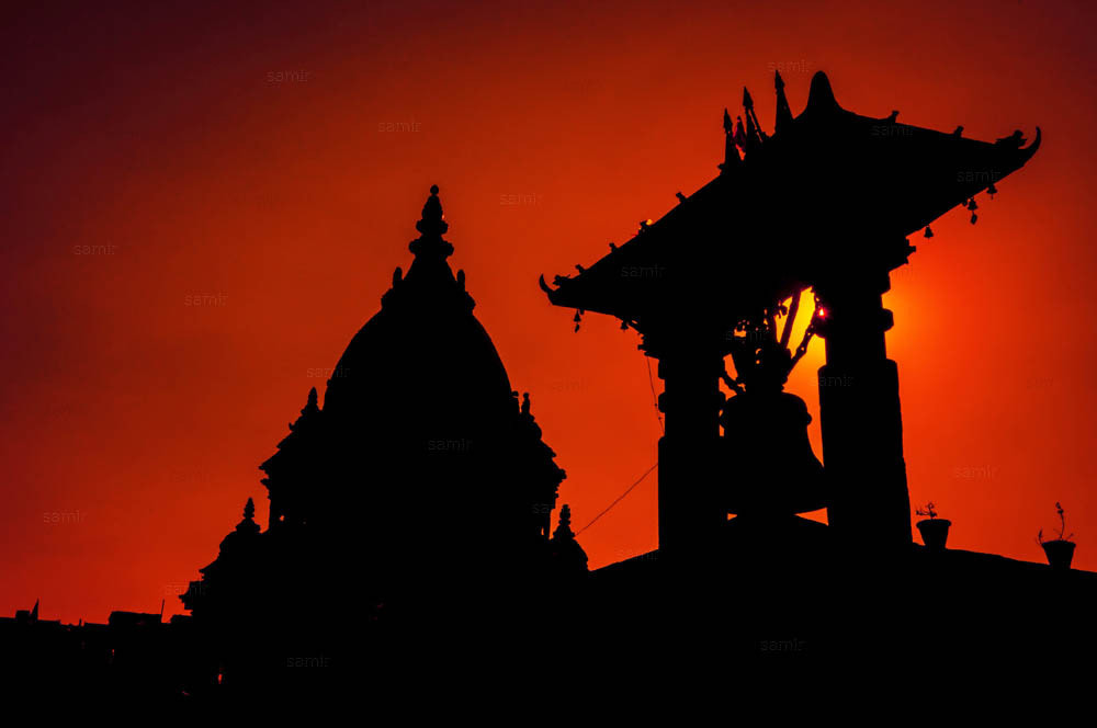 Photograph Silhouette from Nepal  by Samir Pradhananga on 500px