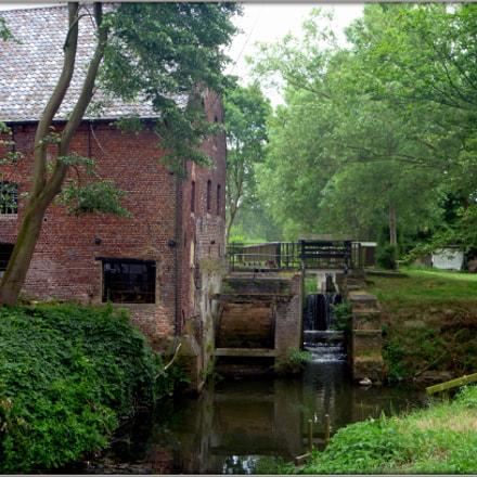 Watermolen - Watermill, Panasonic DMC-FP2
