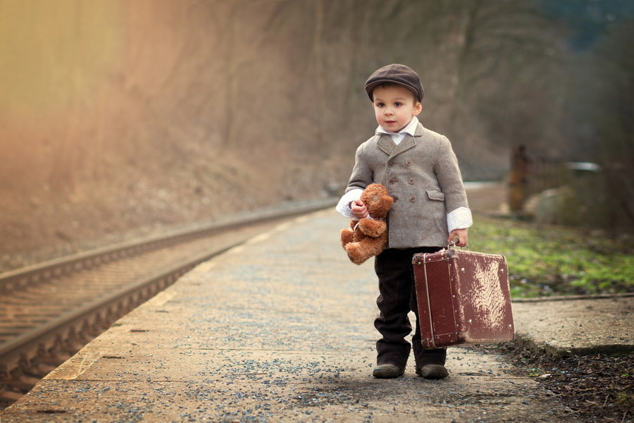 Photograph The little traveler by Tatyana Tomsickova on 500px