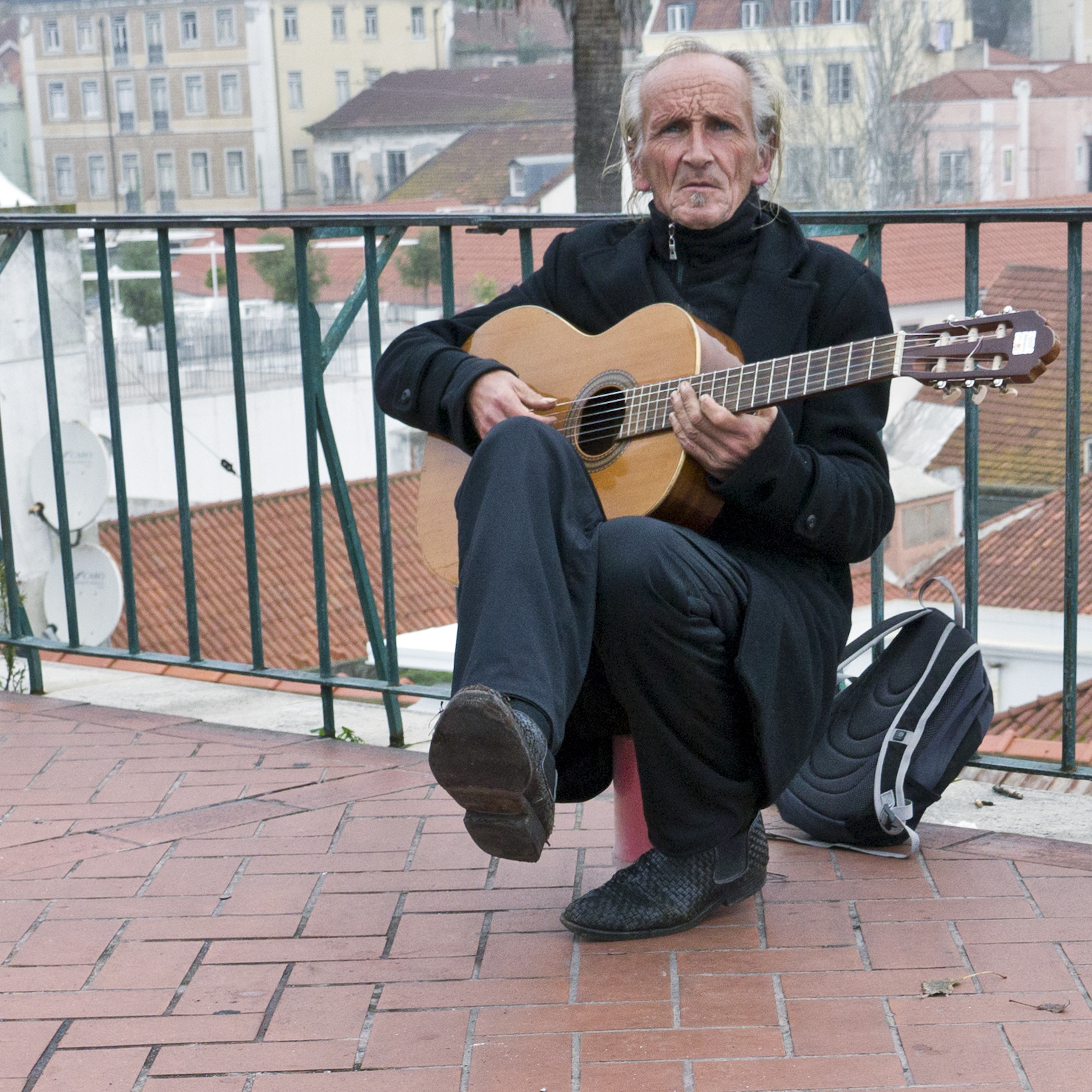 Photograph Street singer by Daniel Antunes on 500px