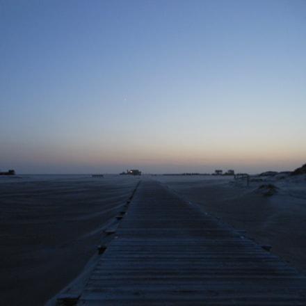 evening mood beach SPO, Nikon COOLPIX S6200