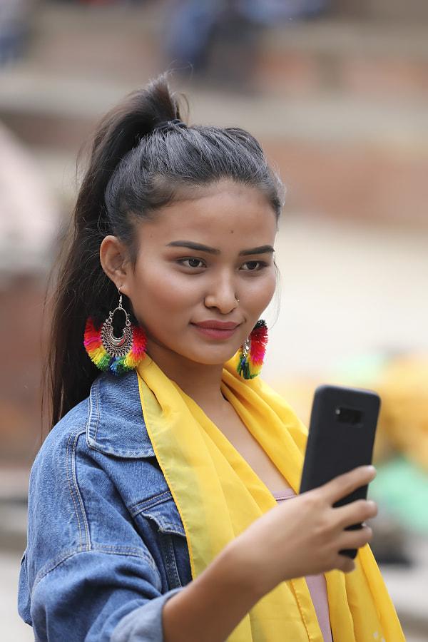 Beauty from Kathmandu, автор — Сергей К на 500px.com