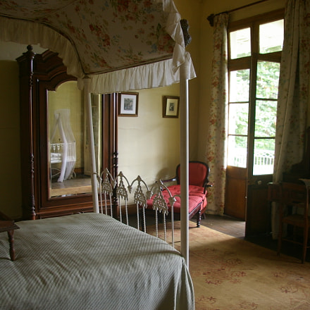 Eurêka Estate Bedroom, Pentax *IST DL2, smc PENTAX-DA 18-55mm F3.5-5.6 AL
