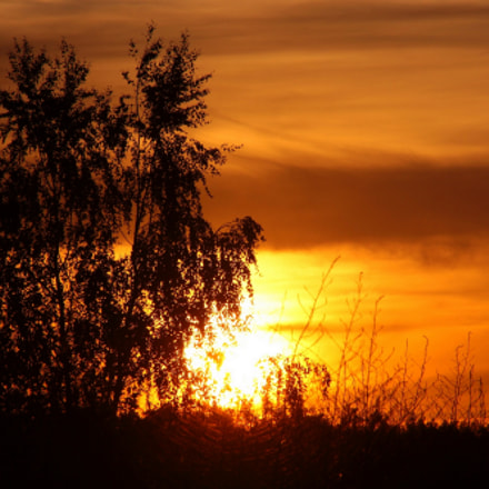 When a day goes, Canon EOS 600D