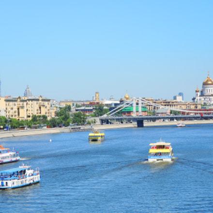 Moskow river, Nikon COOLPIX P7700