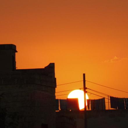 Sunset at San Lawrenz, Panasonic DMC-TZ57