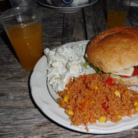 Burger, Panasonic DMC-TZ57