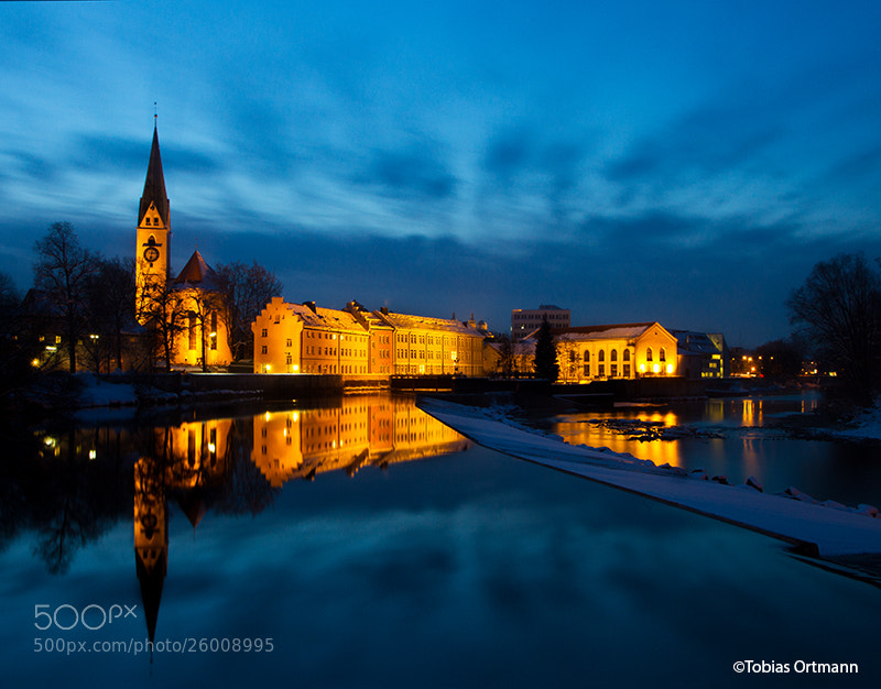 Photograph Kempten in blue by Tobias  Ortmann on 500px
