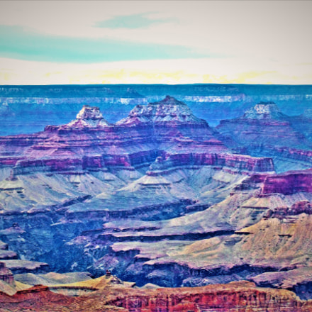 Grand Canyon, Arizona, shortly, Nikon COOLPIX S9200