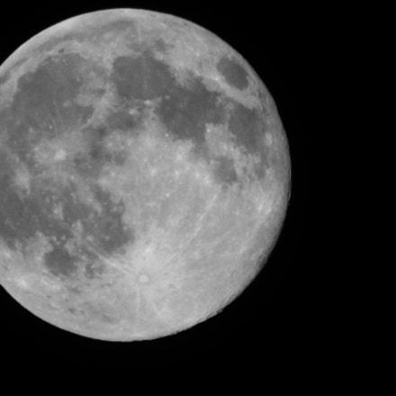 Full moon, Canon POWERSHOT SX420 IS
