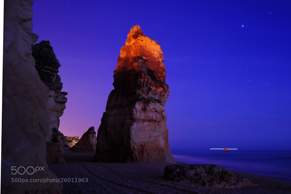 Photograph Beach by night by José Eusébio on 500px