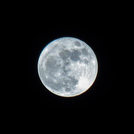 Full moon, Canon IXUS 275 HS