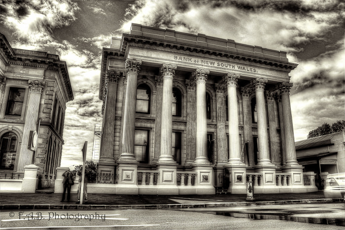 Photograph Bank of New South Wales by Fernandez Barrett on 500px