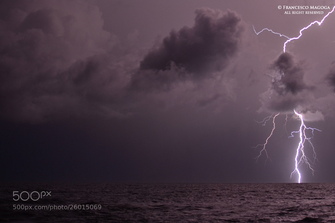 Photograph 1.21 GW offshore thunderbolt by Francesco Magoga on 500px