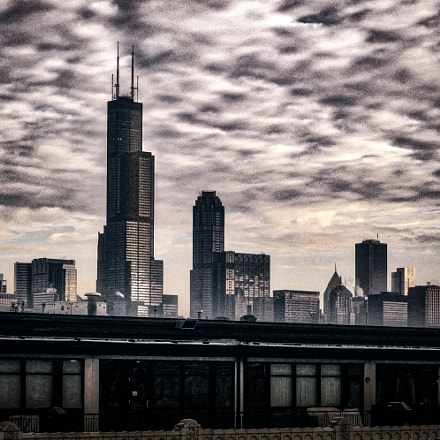 Chicago-cityscape, Panasonic DMC-FH25