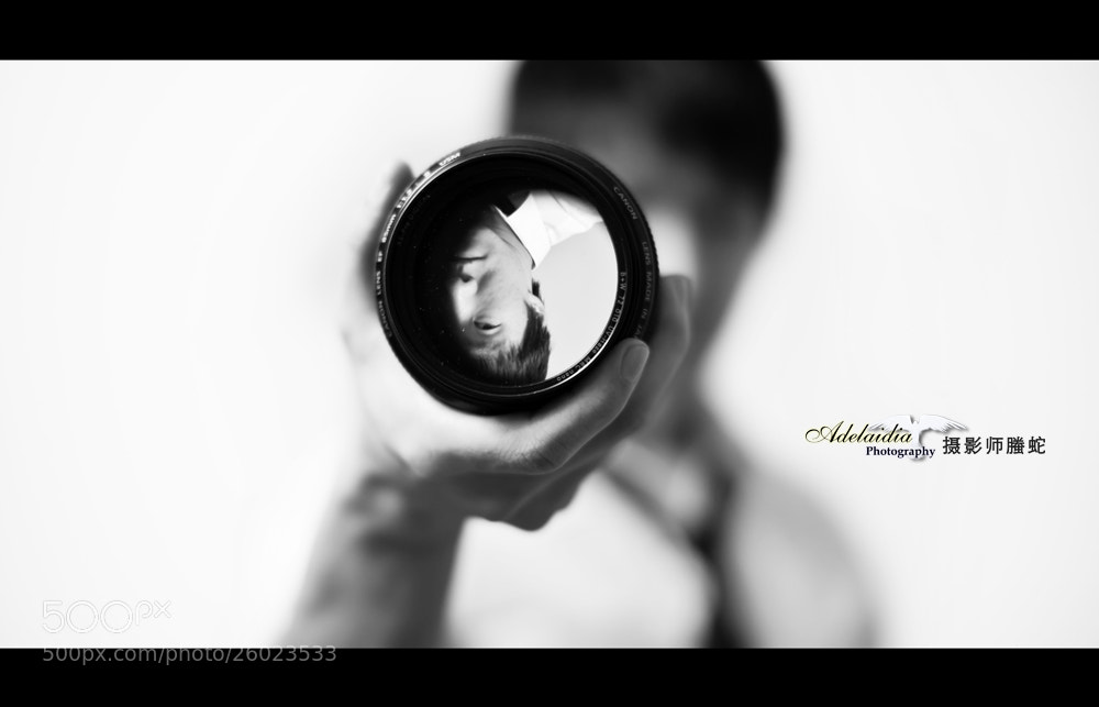 Photograph Self portrait by Ming  on 500px