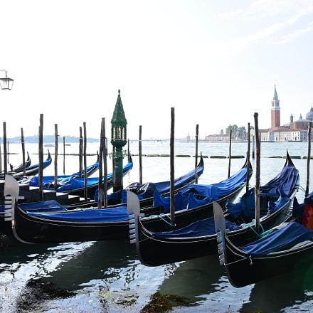 Venice gondolas....., Nikon D5500, Sigma 18-35mm F1.8 DC HSM