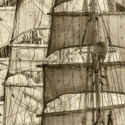 Sails  -Voiles, Canon POWERSHOT S5 IS