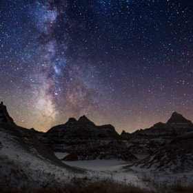 Milky Way Badlands 2 by Aaron J. Groen (AaronGroen)) on 500px.com