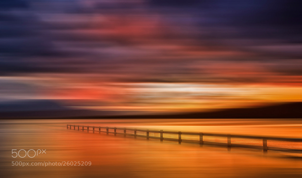 Photograph Mortimer Bay Ablaze by Margaret Morgan on 500px