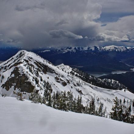 Snowy Summit, Canon EOS DIGITAL REBEL XS, Canon EF-S 18-55mm f/3.5-5.6 IS II