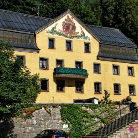 Rathaus Berchtesgaden Bavaria, Canon POWERSHOT SX1 IS