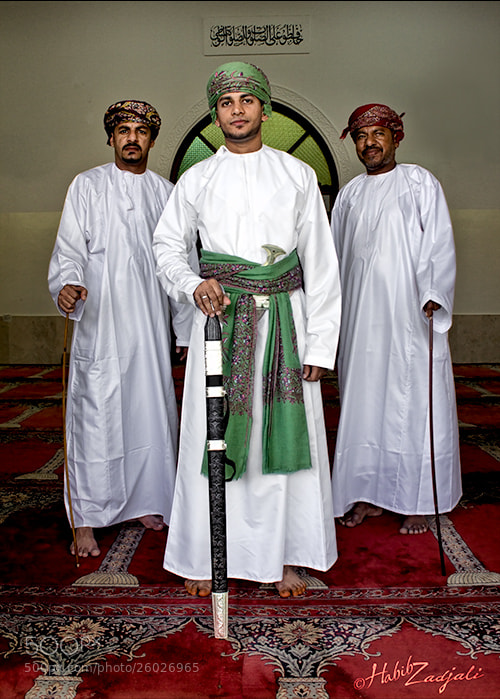 Photograph Omani Groom by Habib Zadjali on 500px