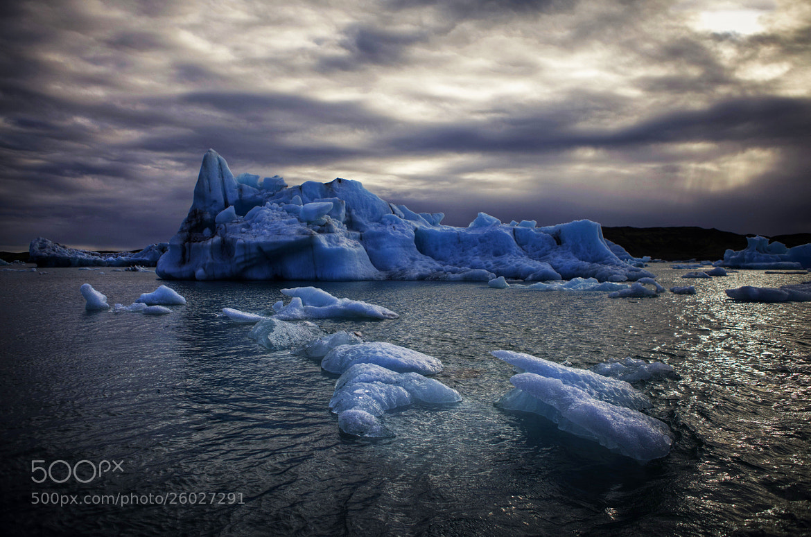 Photograph  Sailing between icebergs by Béla Török on 500px