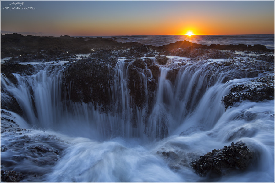 Photograph Thor's Well by Jess Findlay on 500px