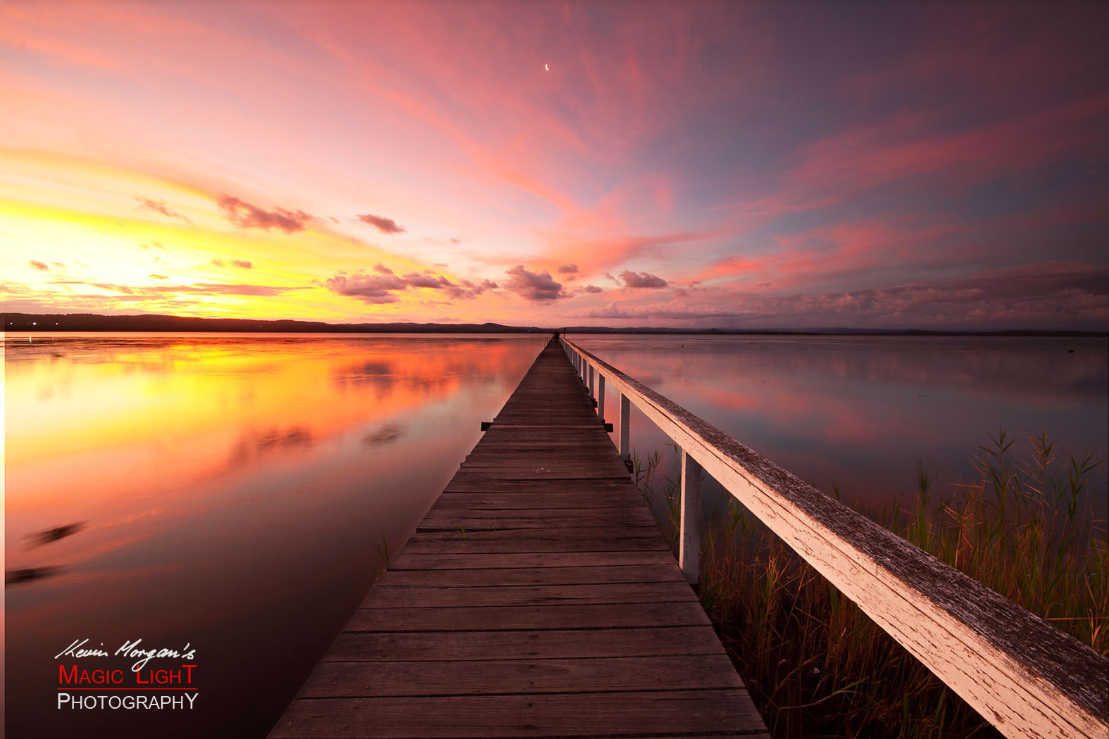 Photograph Long Jetty Sunset 3 by Kevin Morgan on 500px