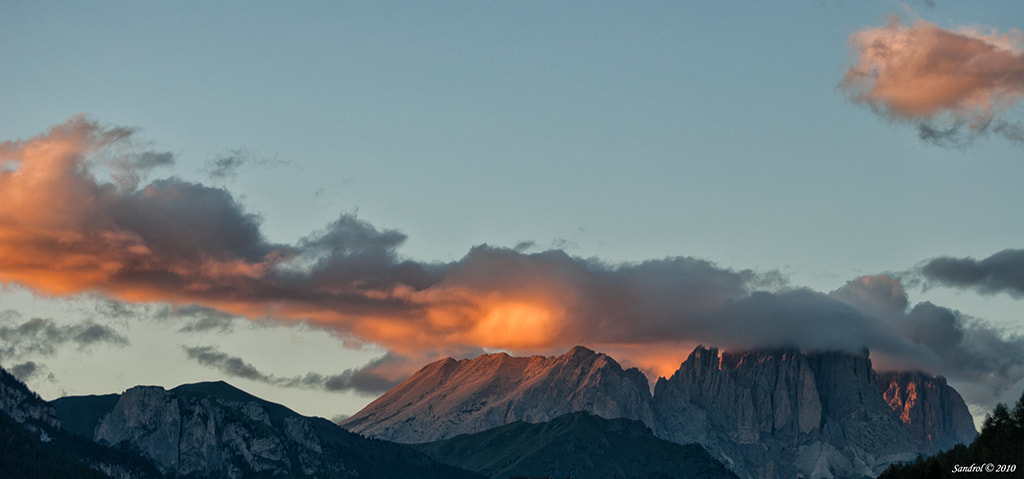 Photograph Sunset in the Dolomites by Sandro L. on 500px
